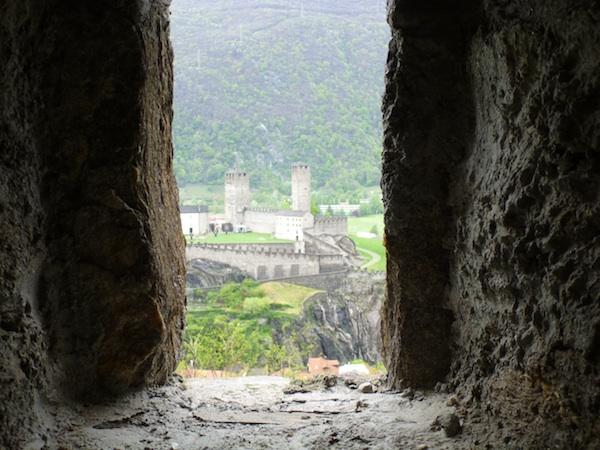 Castelgrande desde Montebello