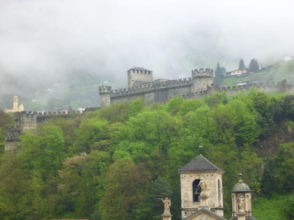 Montebello desde Castelgrande