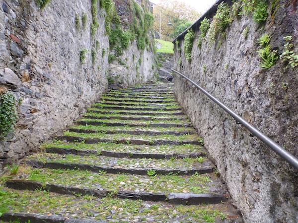 Subida a Castelgrande