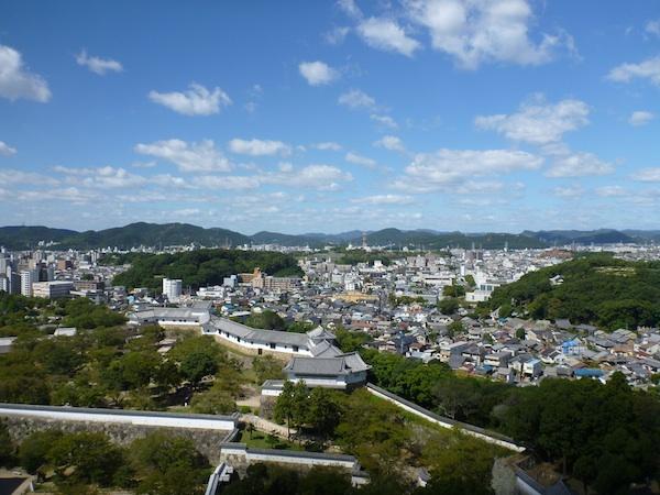 Himeji - vista