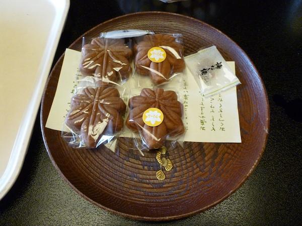 Pastelitos de Miyajima