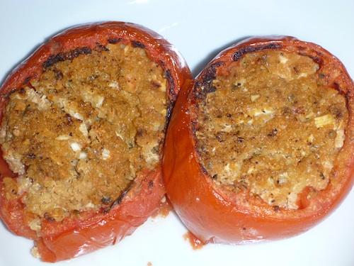 Tomates rellenos Cuscus