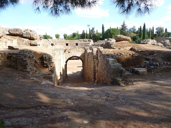 Anfiteatro Entrada