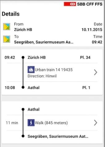 Anreise Aathal
